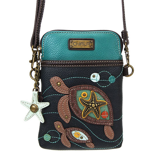 Two Turtles - Cell Phone Crossbody
