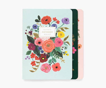 Rifle Paper - Stitched Notebook Set Garden Party