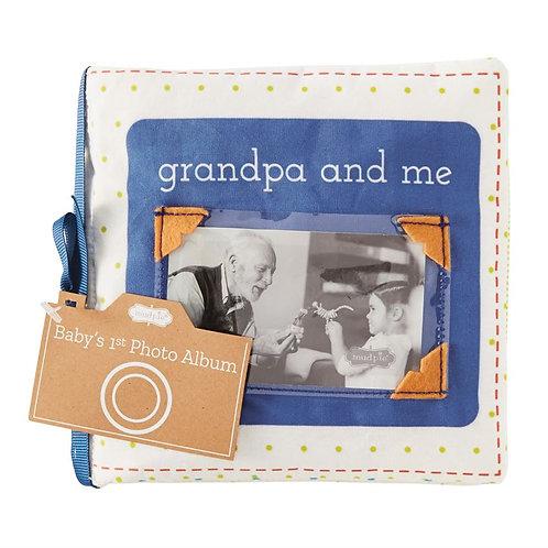 Mud Pie - Grandpa & Me Fabric Book