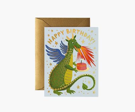 Rifle Paper - Dragon Birthday Card