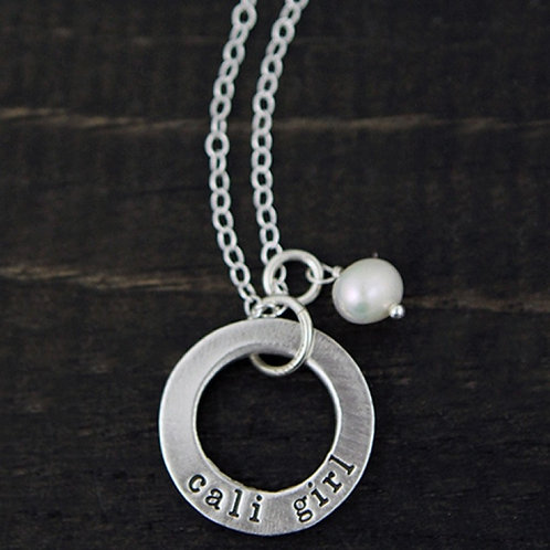 Cali Girl - Necklace, The Vintage Pearl