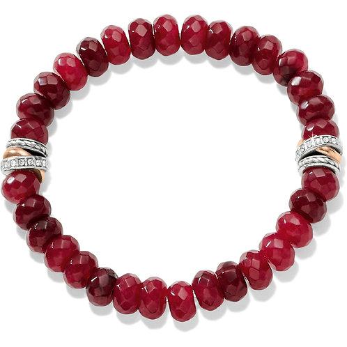 Brighton - Neptune's Rings Ruby Stretch Bracelet