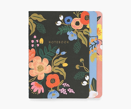 Rifle Paper - Stitched Notebook Set Lively Floral