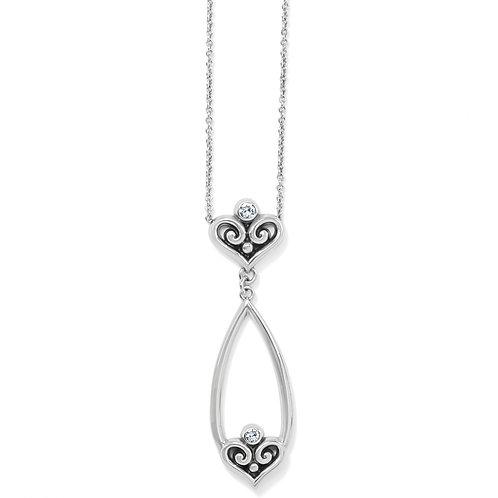 Brighton - Alcazar Heart Teardrop Necklace