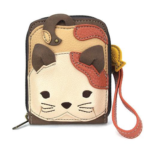 Chala - Cute-C Credit Card Holder Wristlet - Cat