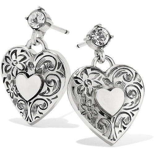 Brighton - One Heart Post Earrings