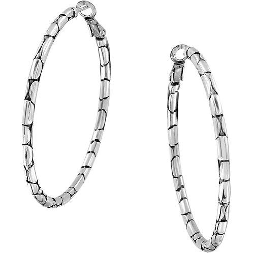Brighton - Pebble Large Hoop Earrings