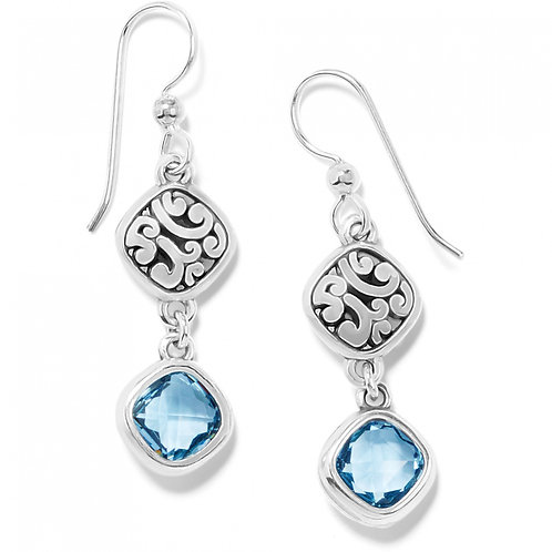 Brighton - Elora Gems Sky French Wire Earrings