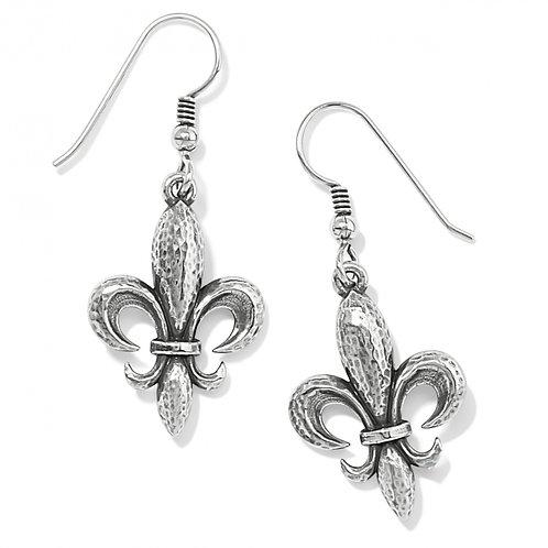 Brighton - Ferrara Fleur De Lis French Wire Earrings