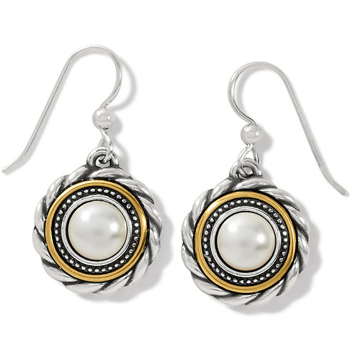 Brighton - Meridian Golden Pearl French Wire Earrings
