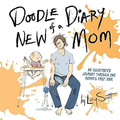 Doodle Diary of a New Mom Book
