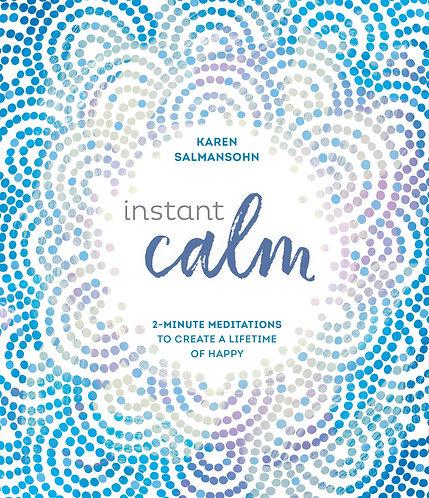 Instant Calm Book