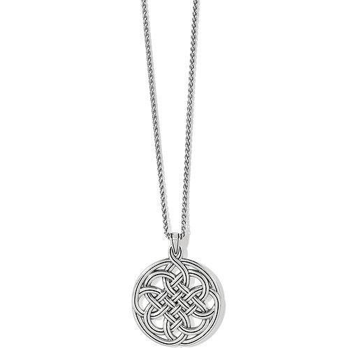 Brighton - Interlok Medallion Necklace