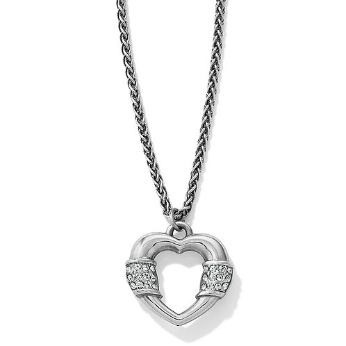 Brighton - Meridian Linx Petite Heart Necklace