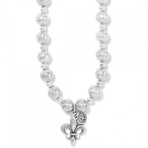 Brighton - Ferrara Fleur De Lis Short Necklace