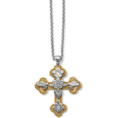Brighton - Bethlehem Cross Necklace