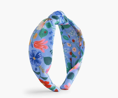 Rifle Paper - Knotted Headband Strawberry