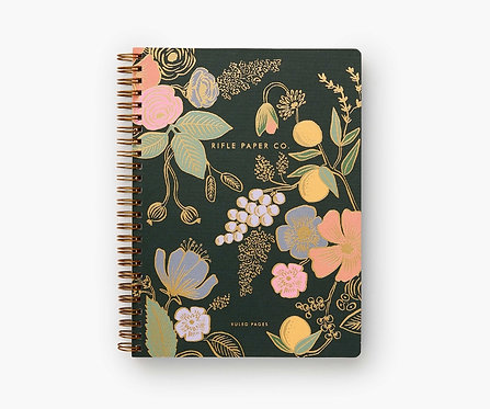 Rifle Paper - Spiral Notebook Colette