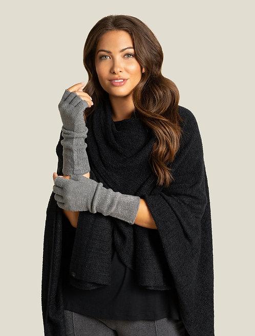 CozyChic Lite® Fingerless Gloves - Graphite