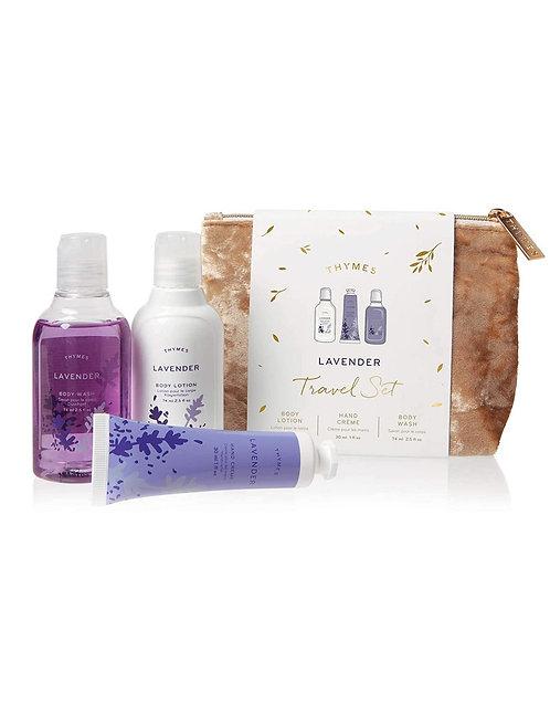 Thymes - Lavender Travel Set