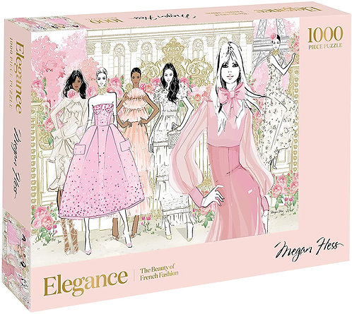Elegance : The Beauty of French Fashion - 1000 Piece Puzzle