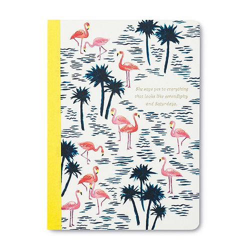 She Says Yes to Everything Notebook