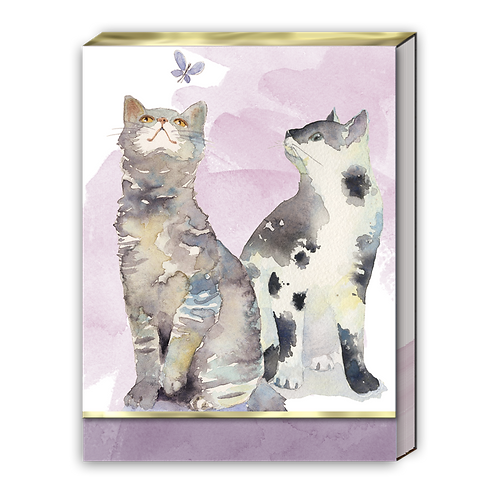 Butterfly Cats Pocket Note Pad