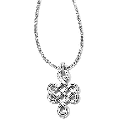 Brighton - Interlok Endless Knot Petite Necklace