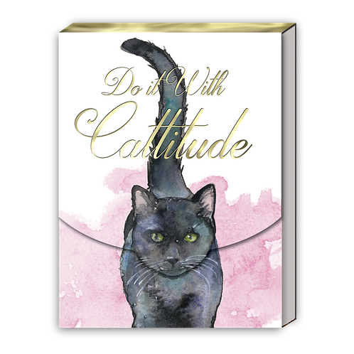 Cattitude Pocket Note Pad