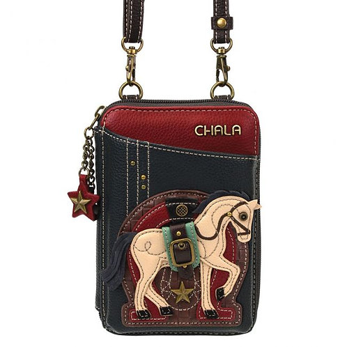 Chala - Horse - Wallet Crossbody
