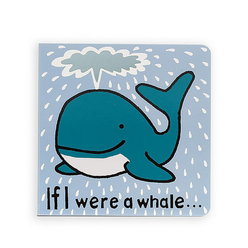 Jellycat - IF I WERE A WHALE BOOK