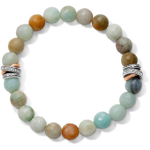 Brighton - Neptune's Rings Amazonite Stretch Bracelet