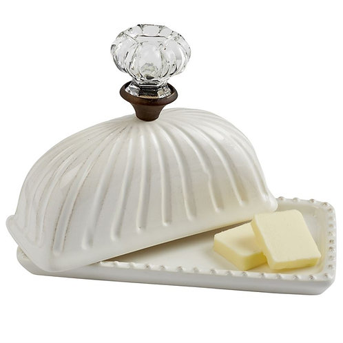 Mud Pie - Door Knob Butter Dish