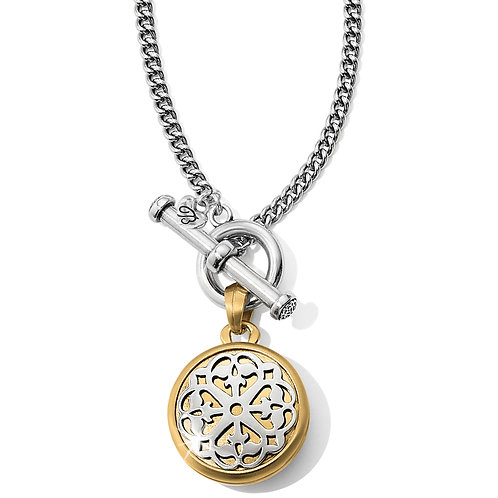 Brighton - Ferrara Two Tone Locket Necklace