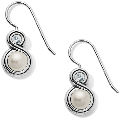 Brighton - Infinity Pearl French Wire Earrings