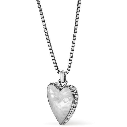 Brighton - Spectrum Love Clear Necklace