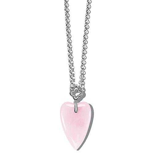 Brighton - Toledo With Love Rose Quartz Necklace