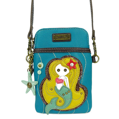 Mermaid - Cell Phone Crossbody