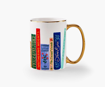 Rifle Paper - Porcelain Mug Book Club