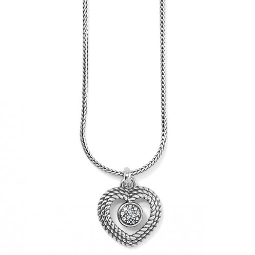 Brighton - Portuguese Heart Short Necklace