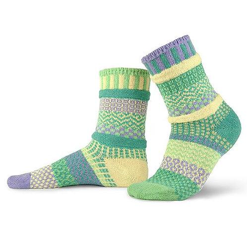 Solmate Socks - Chick-a-Dee Crew Socks