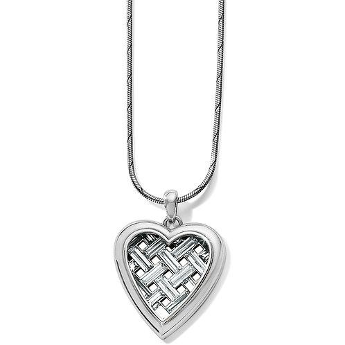 Brighton - Love Cage Heart Short Necklace
