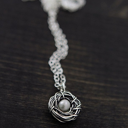Messy Nests - Necklace, The Vintage Pearl