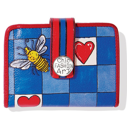 Brighton - Bee Happy Small Wallet