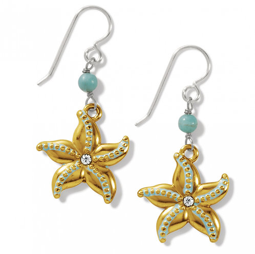 Brighton - Paradise Cove Starfish French Wire Earrings