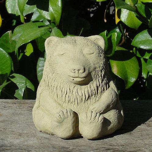 Meditating Bear Figure - Small