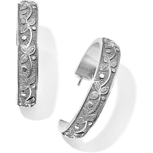 Brighton - Udaipur Palace Hoop Earrings - Silver