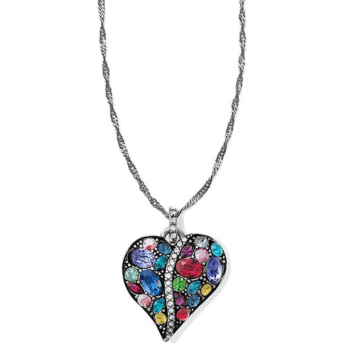 Brighton - Trust Your Journey Heart Necklace