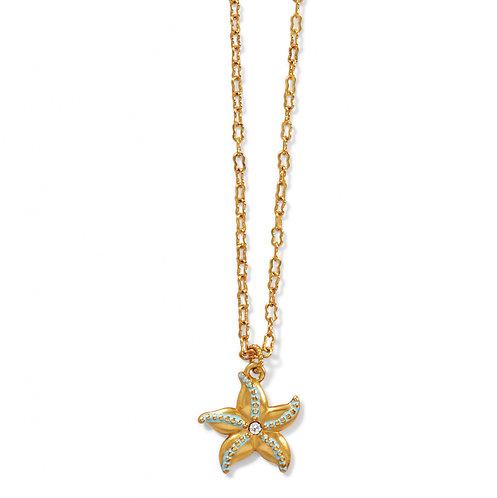 Brighton - Paradise Cove Petite Starfish Necklace