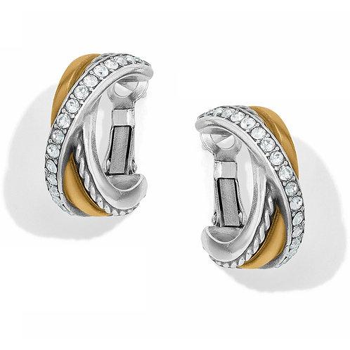 Brighton - Neptune's Rings Post Clip Earrings